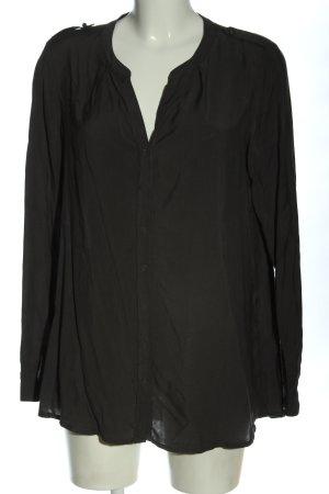 Opus Camicia blusa grigio chiaro stile professionale