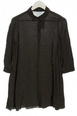 Opus Abito blusa camicia nero stampa integrale stile casual
