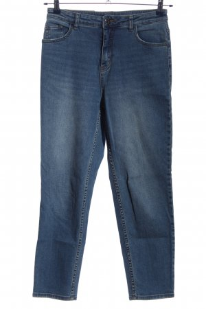 Opus High Waist Jeans blau Casual-Look