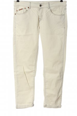 Opus Jeans a 7/8 bianco sporco stile casual