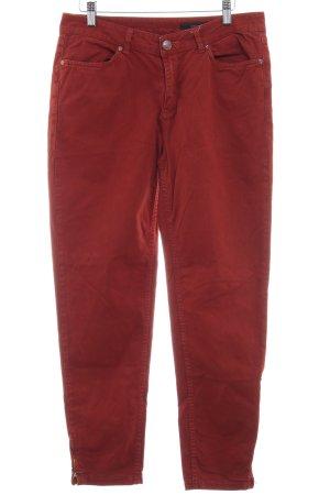 Opus High Waist Jeans russet casual look