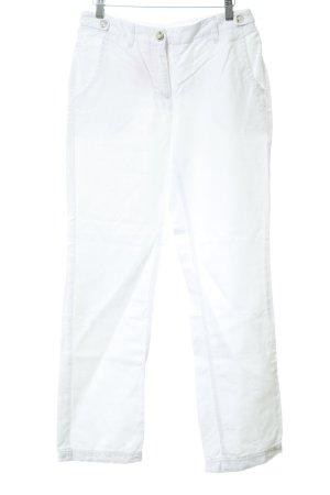 Opus High Waist Jeans weiß Jeans-Optik