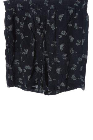 Opus Pantalón corto de talle alto azul look casual