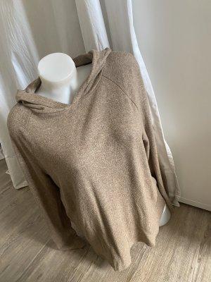 Opus Hoodie Kapuzenpullover Pullover 38/M L beige