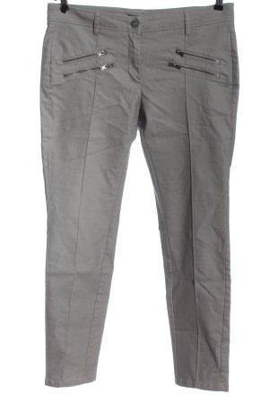 Opus pantalón de cintura baja gris claro look casual