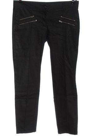 Opus pantalón de cintura baja negro look casual