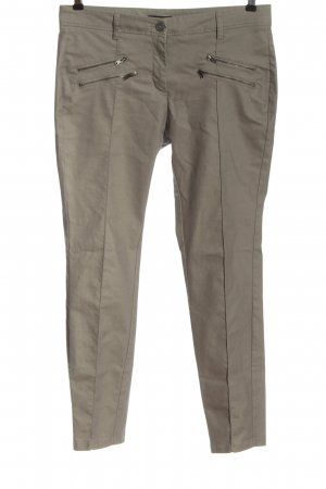Opus Low-Rise Trousers light grey casual look