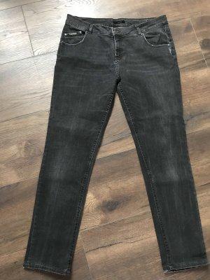 Opus Boyfriend Jeans black