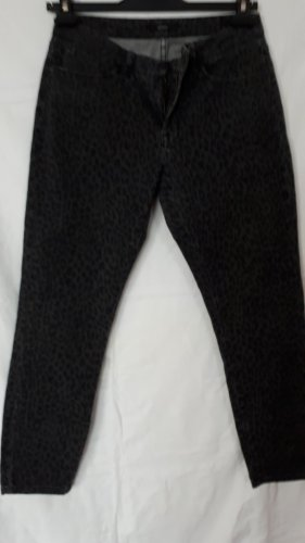 Opus 7/8 Length Jeans black-anthracite