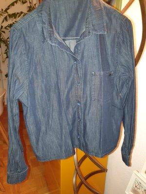 OPUS Jeans Hemdbluse dunkelblau Gr.36