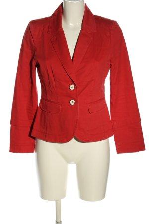 Opus Blazer en jean rouge style décontracté