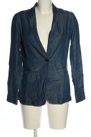Opus Blazer en jean bleu style décontracté