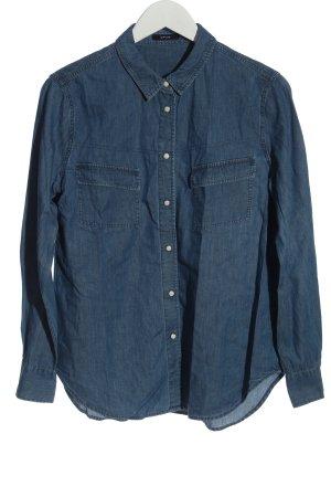 Opus Denim Shirt blue casual look