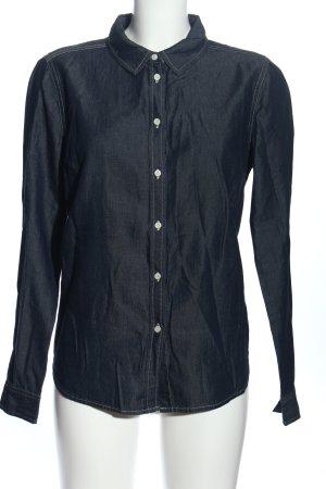 Opus Jeansowa koszula niebieski W stylu casual
