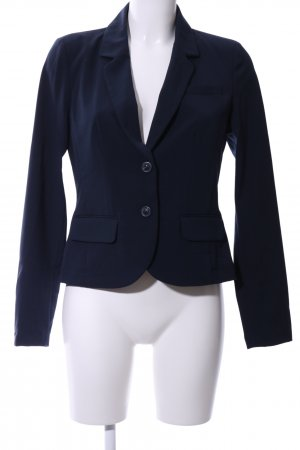 Opus Jerseyblazer blau Business-Look