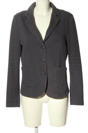 Opus Blazer in jersey grigio chiaro stampa integrale stile professionale