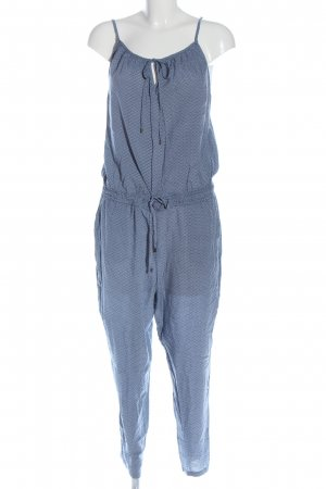 Opus Jumpsuit blue allover print casual look