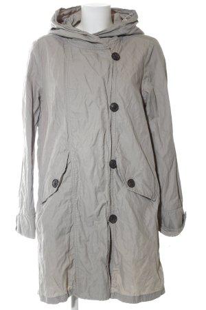 Opus Manteau à capuche gris clair style décontracté