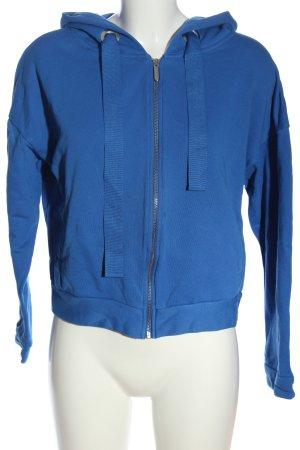 Opus Sweat à capuche bleu style décontracté