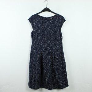 OPUS Kleid Gr. 36 dunkelblau weiß gemustert (20/01/023)