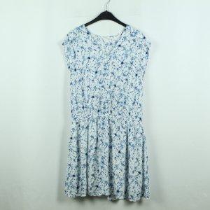 Opus Kleid Gr. 36 weiß blau gemustert (20/07/025*)