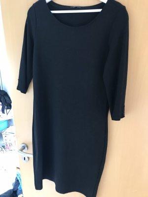 Opus Vestido de tela de jersey negro