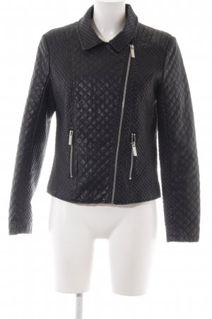 Opus jacke schwarz Steppmuster Street-Fashion-Look