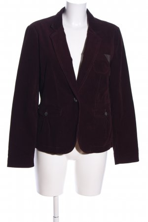 Opus Kurz-Blazer lila Business-Look