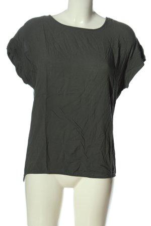 Opus T-Shirt hellgrau Casual-Look