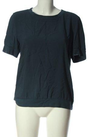 Opus Short Sleeved Blouse blue casual look