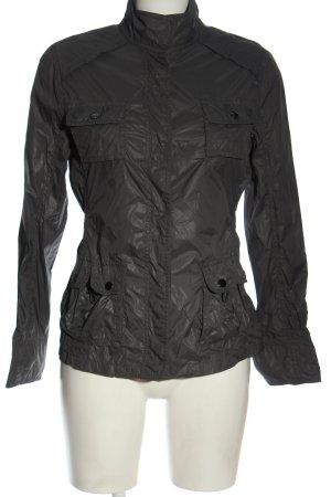 Opus Short Jacket light grey casual look