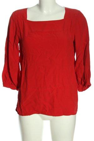 Opus Langarm-Bluse rot Casual-Look
