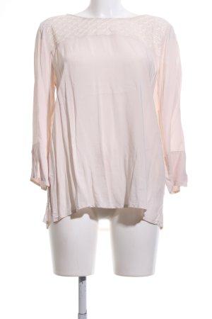 Opus Langarm-Bluse pink Casual-Look
