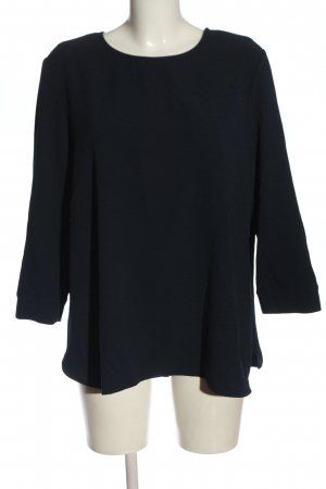 Opus Long Sleeve Blouse blue business style