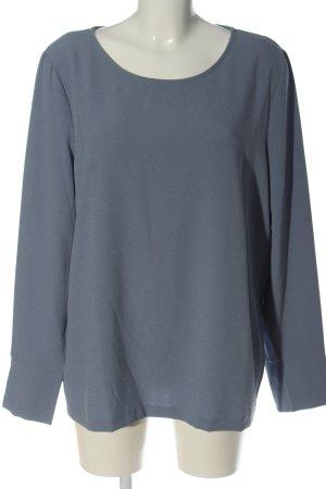 Opus Long Sleeve Blouse blue casual look
