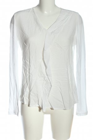 Opus Long Sleeve Blouse white casual look