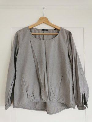 Opus Long Sleeve Blouse light grey-grey