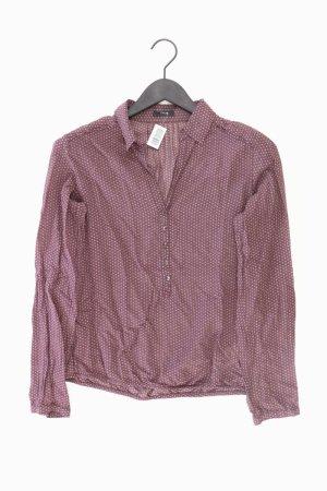 Opus Long Sleeve Blouse lilac-mauve-purple-dark violet cotton