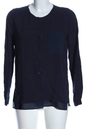 Opus Langarmhemd blau Casual-Look
