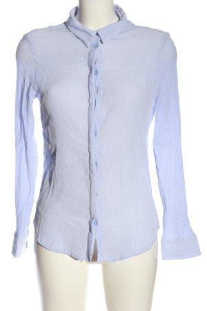 Opus Shirt met lange mouwen blauw zakelijke stijl