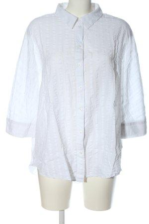 Opus Long Sleeve Shirt white business style