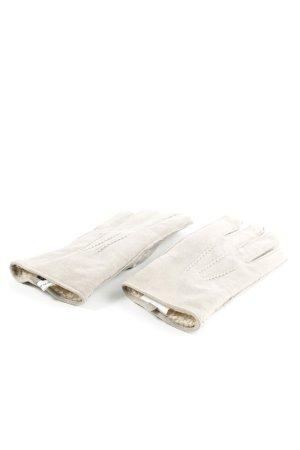 Opus Guanto in pelle bianco sporco stile professionale