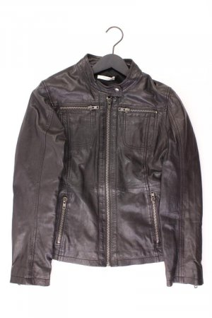 Opus Faux Leather Jacket black leather