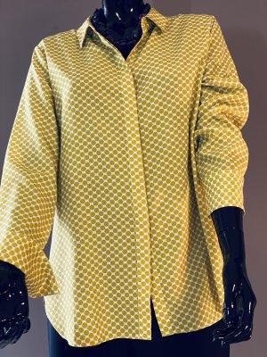 Opus Shirt Blouse natural white-neon yellow polyamide