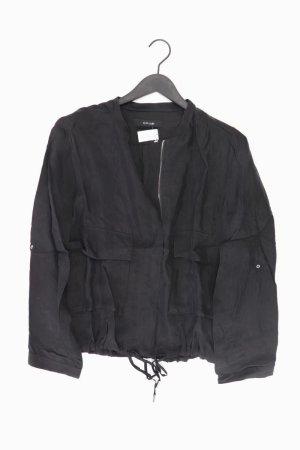Opus Leichte Jacke Größe M schwarz aus Cupro