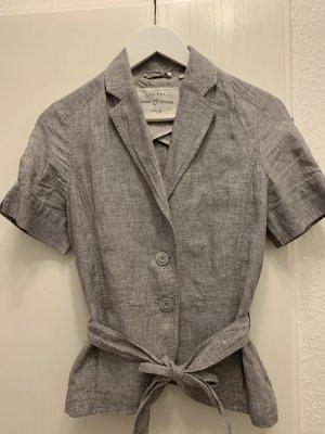 Opus Blazer corto grigio chiaro-bianco