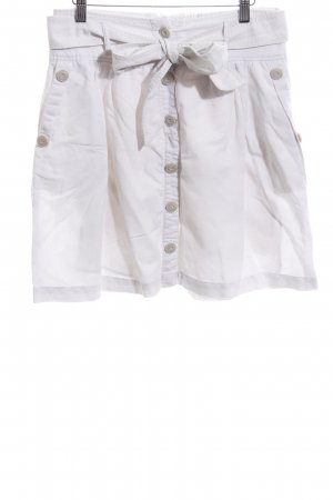 Opus Gonna in lino bianco stile casual