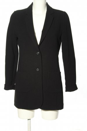 Opus Long-Blazer schwarz-weiß Business-Look