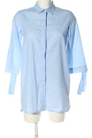 Opus Long-Bluse blau Casual-Look