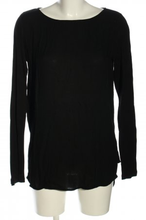 Opus Longshirt schwarz Casual-Look